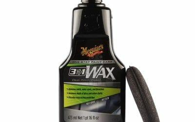Meguiars 3-in-1 wax – Til dig der vil hurtigt i mål!